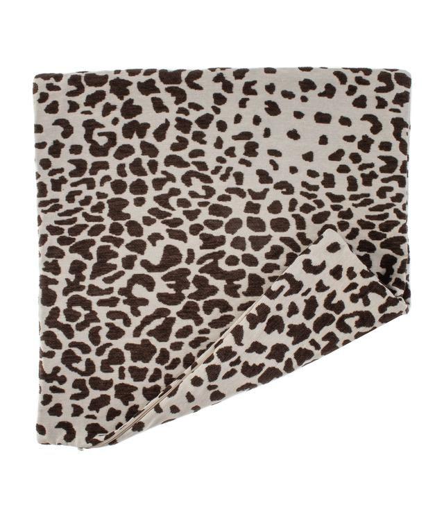 Tyynynpäällinen Casual Leopardi, ruskea