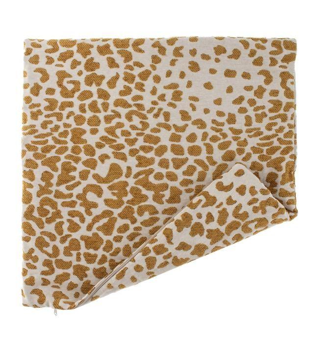 Tyynynpäällinen Casual Leopardi, keltainen