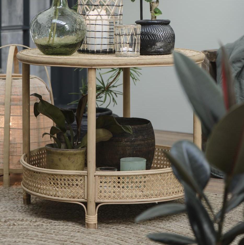 Sivupöytä rottinki, Ib Laursen