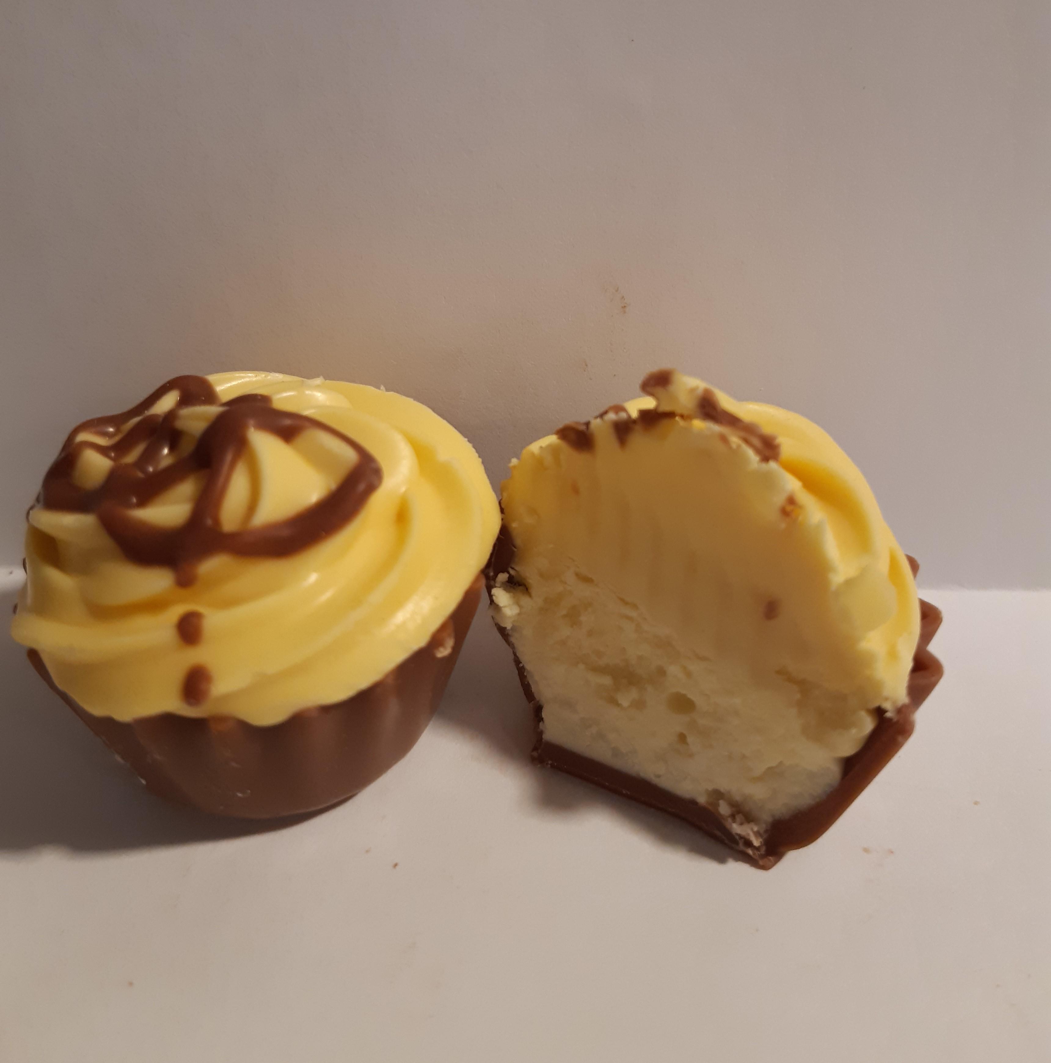 Sitruuna cupcake