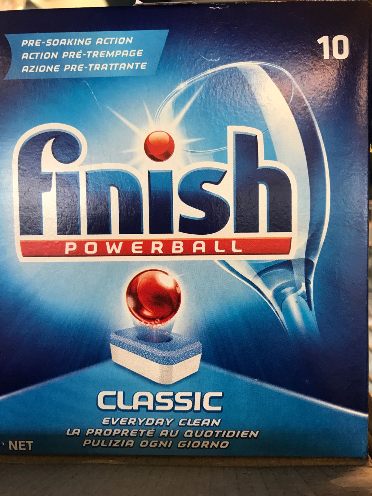 Finish powerball disktabletter