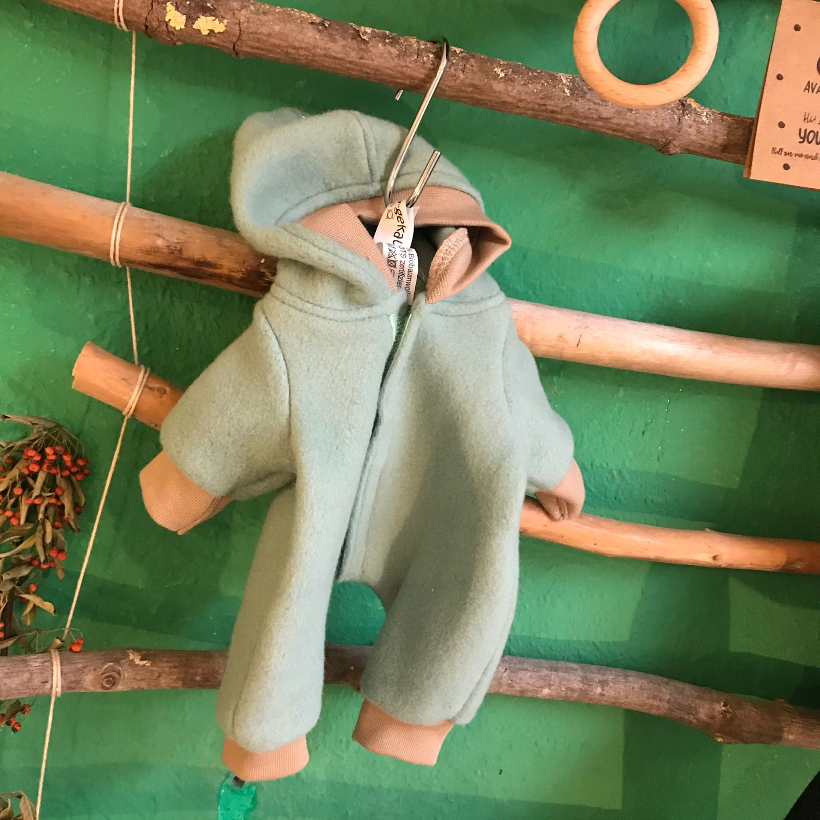Puppen Overall Mint, 33 cm Puppe