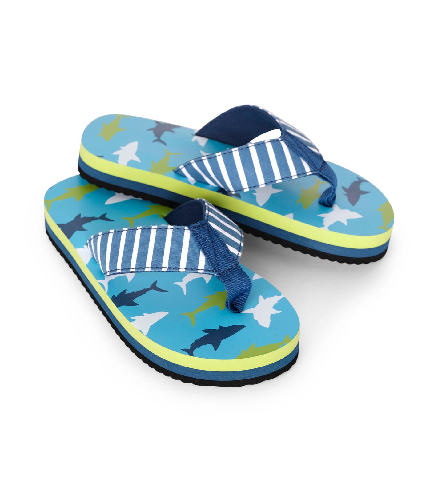 Hatley Great White Sharks Flip-Flops
