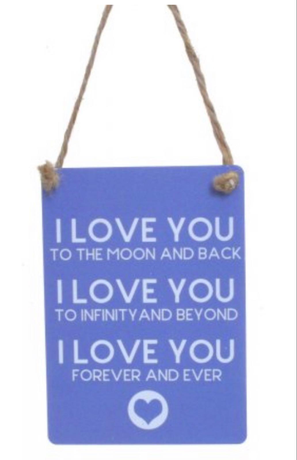 I Love You Hanger
