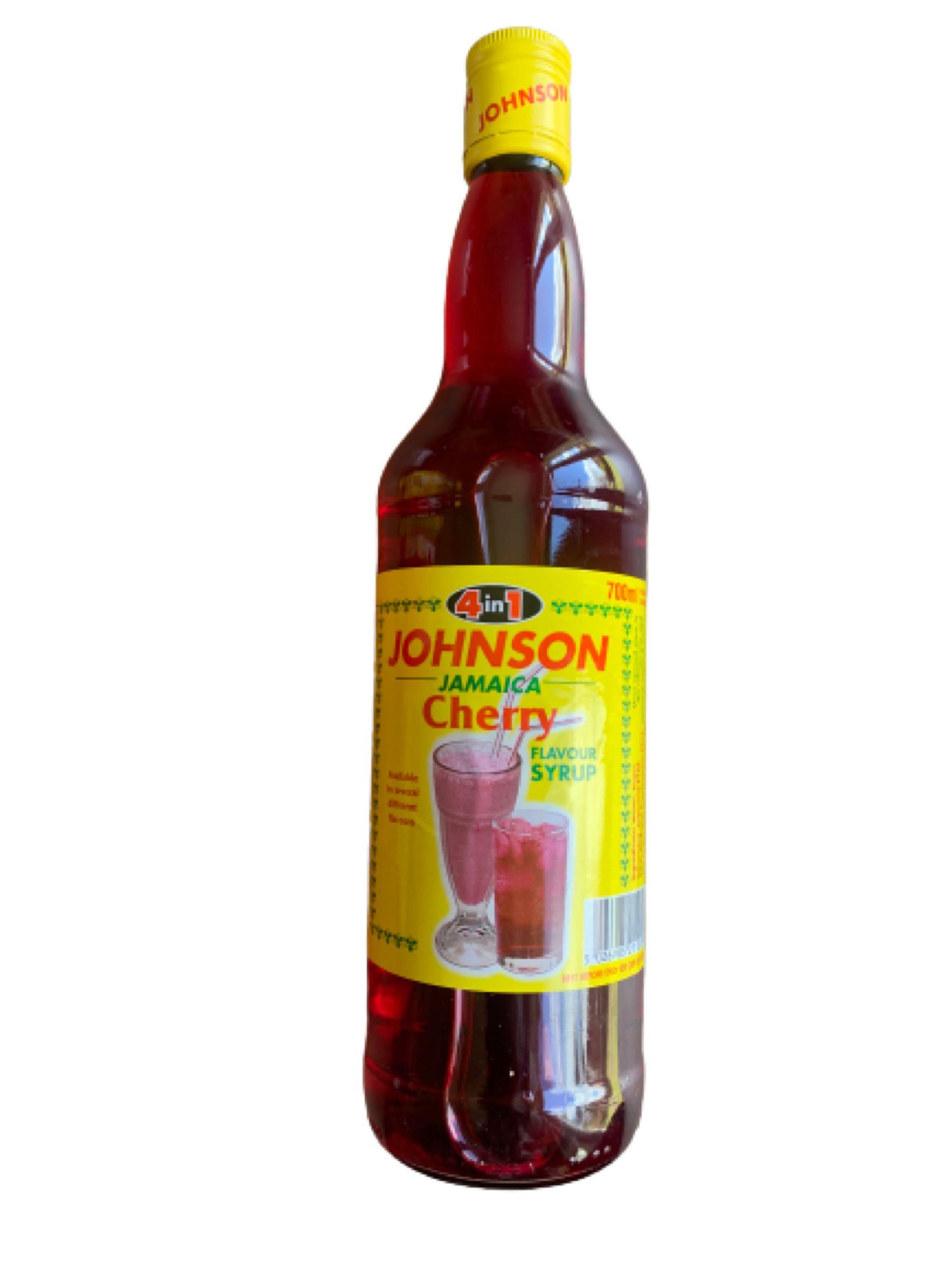 Johnson's 4-1 Cherry Syrup