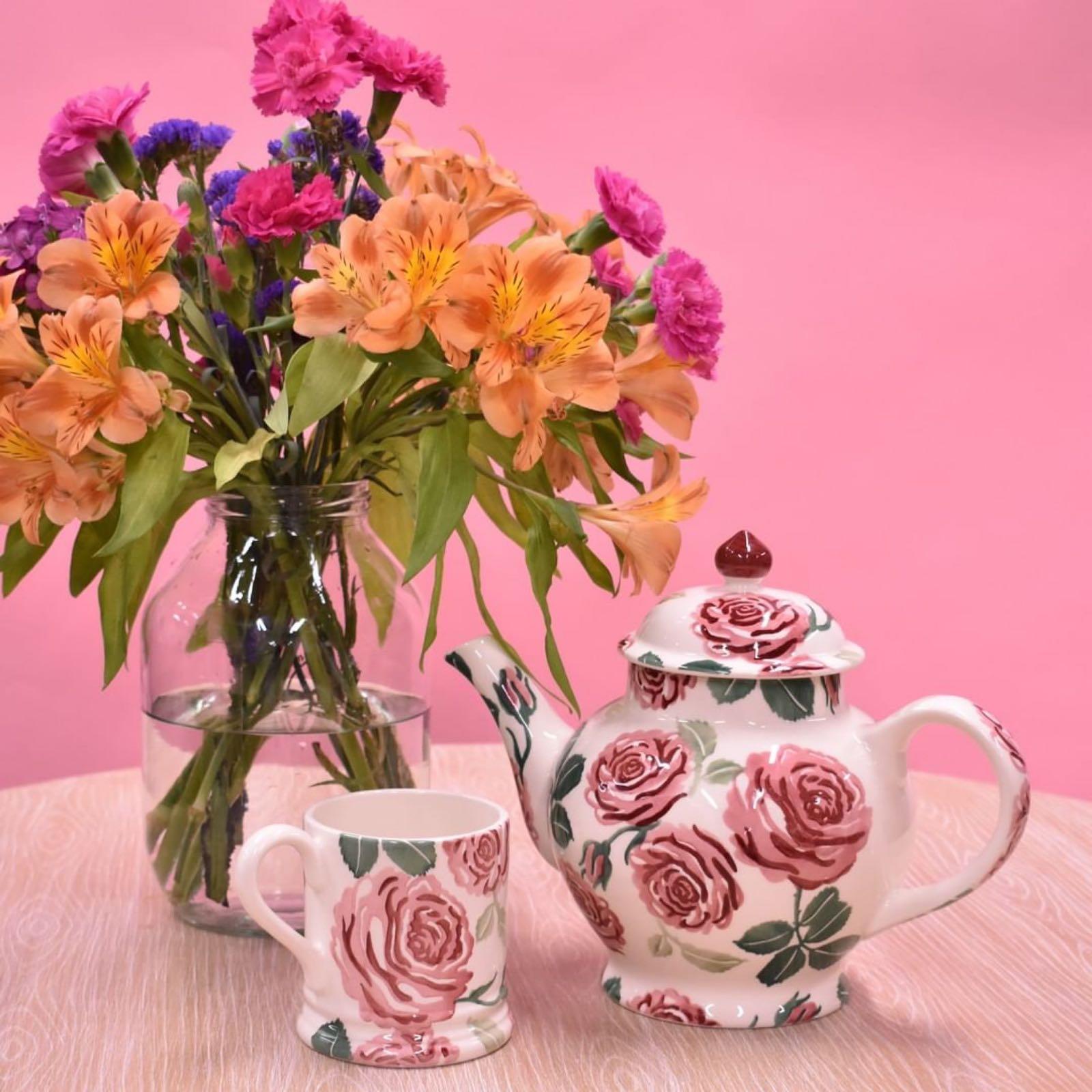 Emma Bridgewater Pink Roses 1/2 Pint Mug