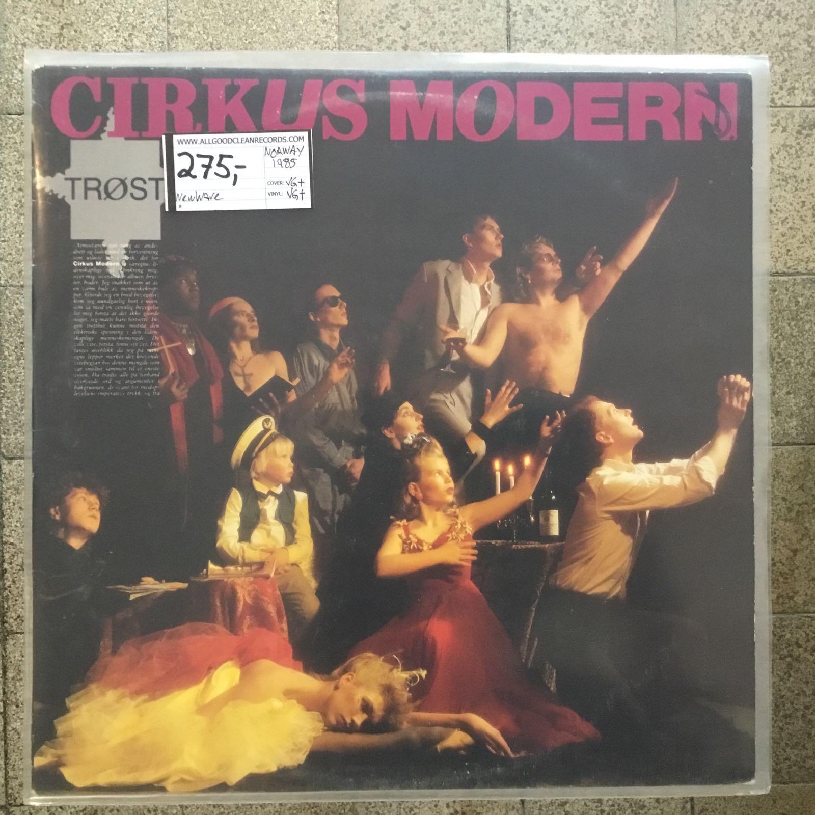 Cirkus Modern – Trøst [LP] (2. hand)