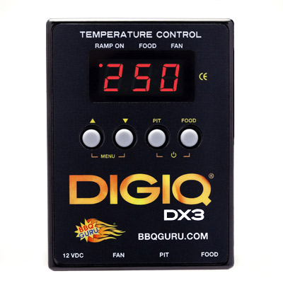 BBQ Guru DigiQ DX3, Controller only