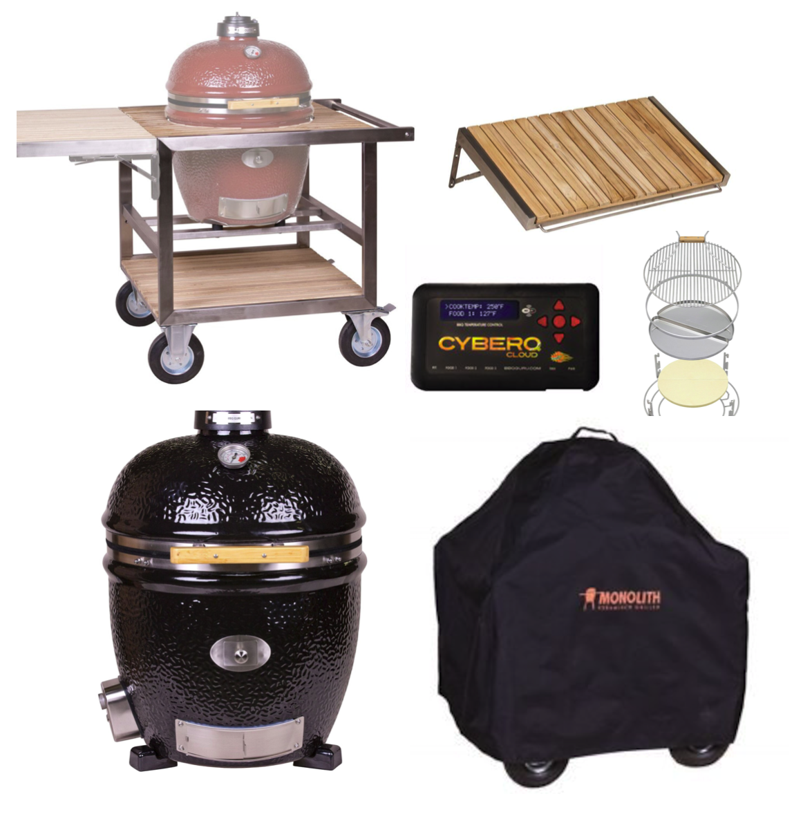 CLASSIC BBQ GURU PRO-Series 1.0 - BLACK - Bundle