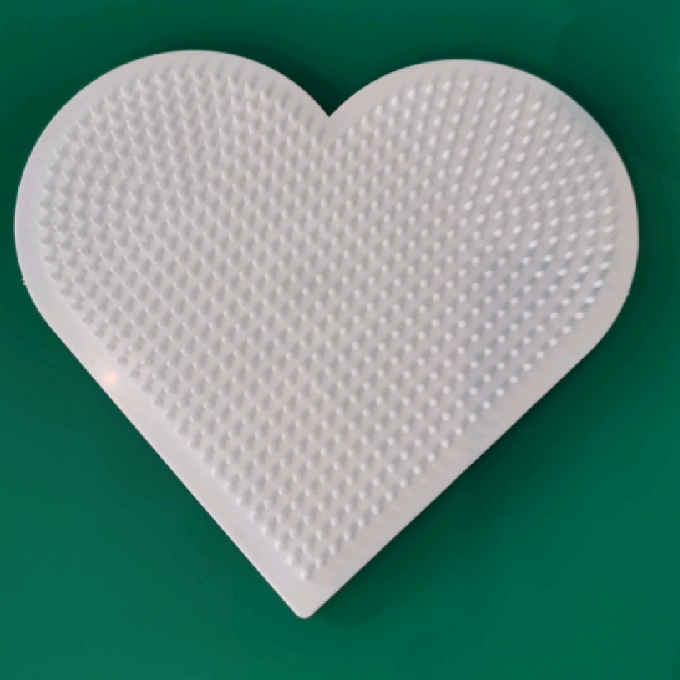 Hama Midi piggplate Stort Hjerte