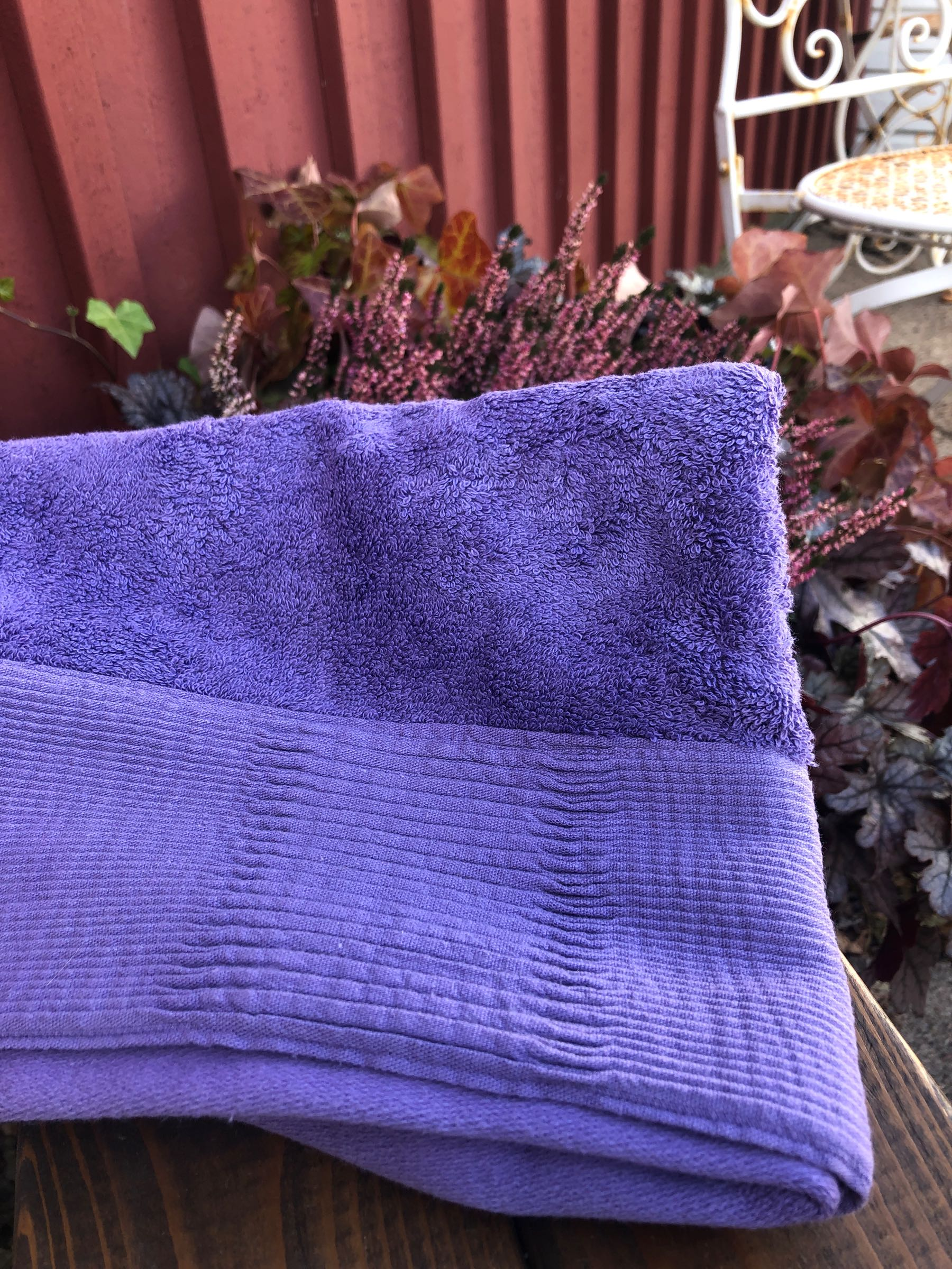 ALASSIO Terry towel 50x70cm purple