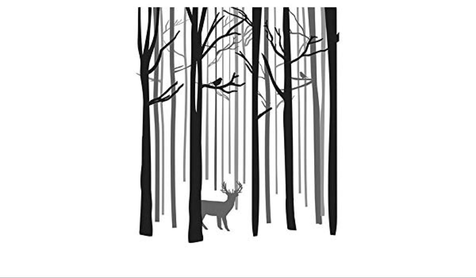 Spellbinders skog stempel dsc-017