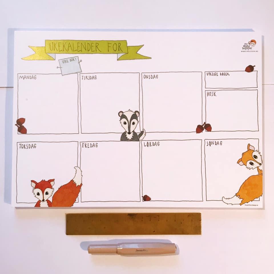 Ukeskalender Reveflokk