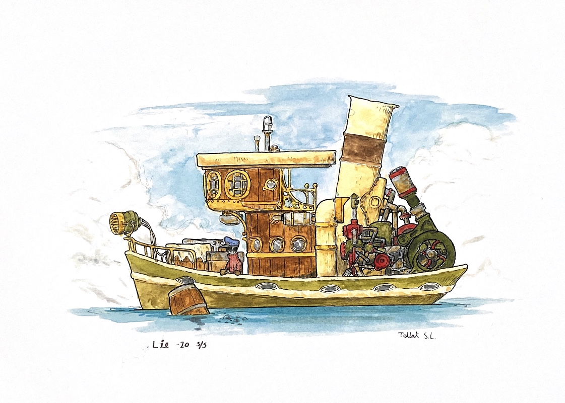 Illustrasjoner Tallak Lie