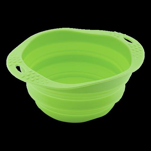 Beco hopfällbar skål, grön