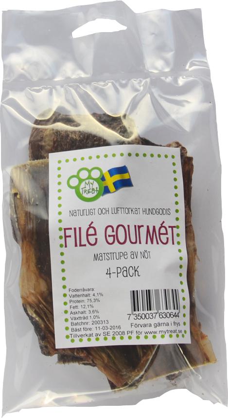 My Treat Filé Gourmet 4-pack
