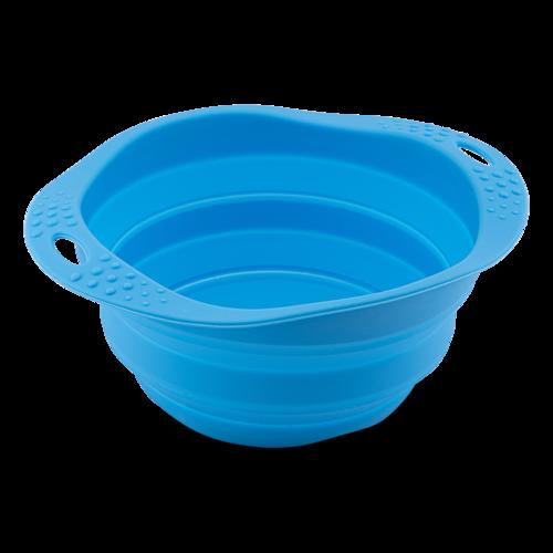 Beco hopfällbar skål, blå