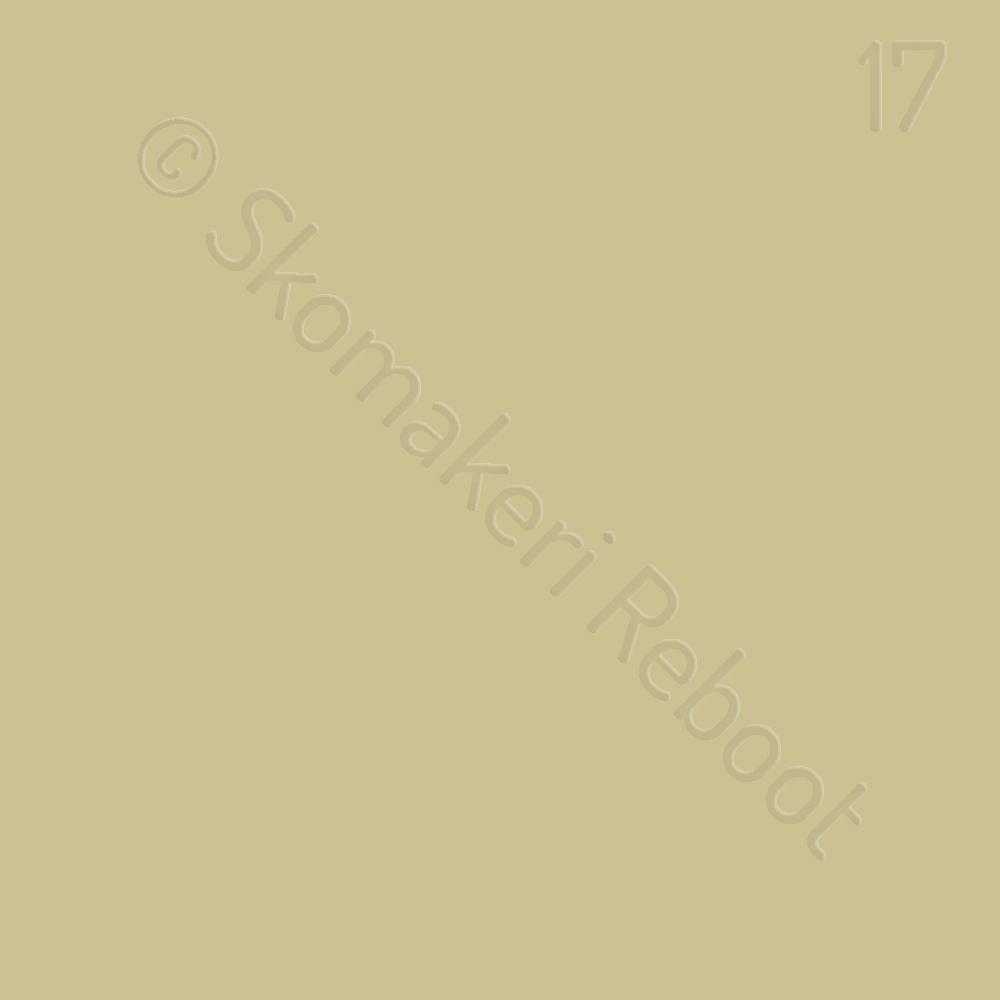 17 repfärgad, Saphir Créme surfine