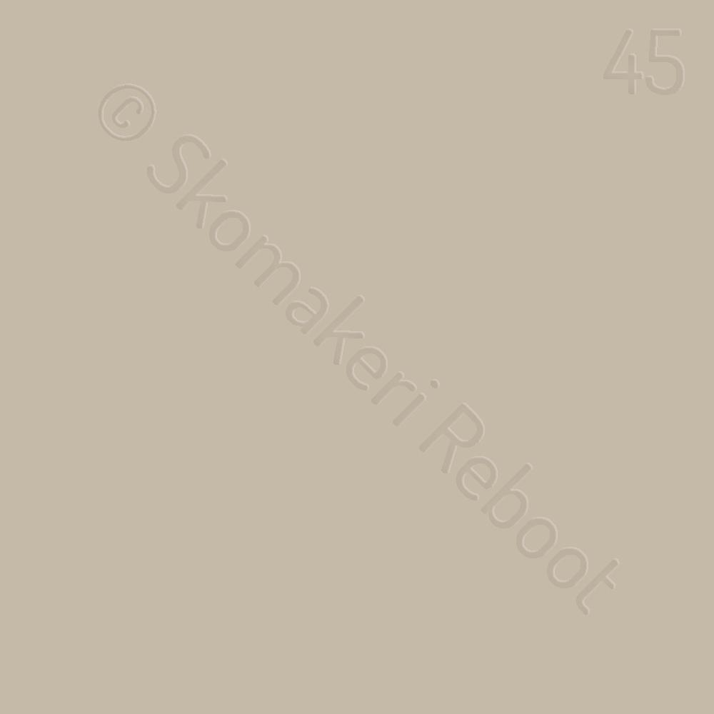 45 elfenben, Saphir Créme surfine