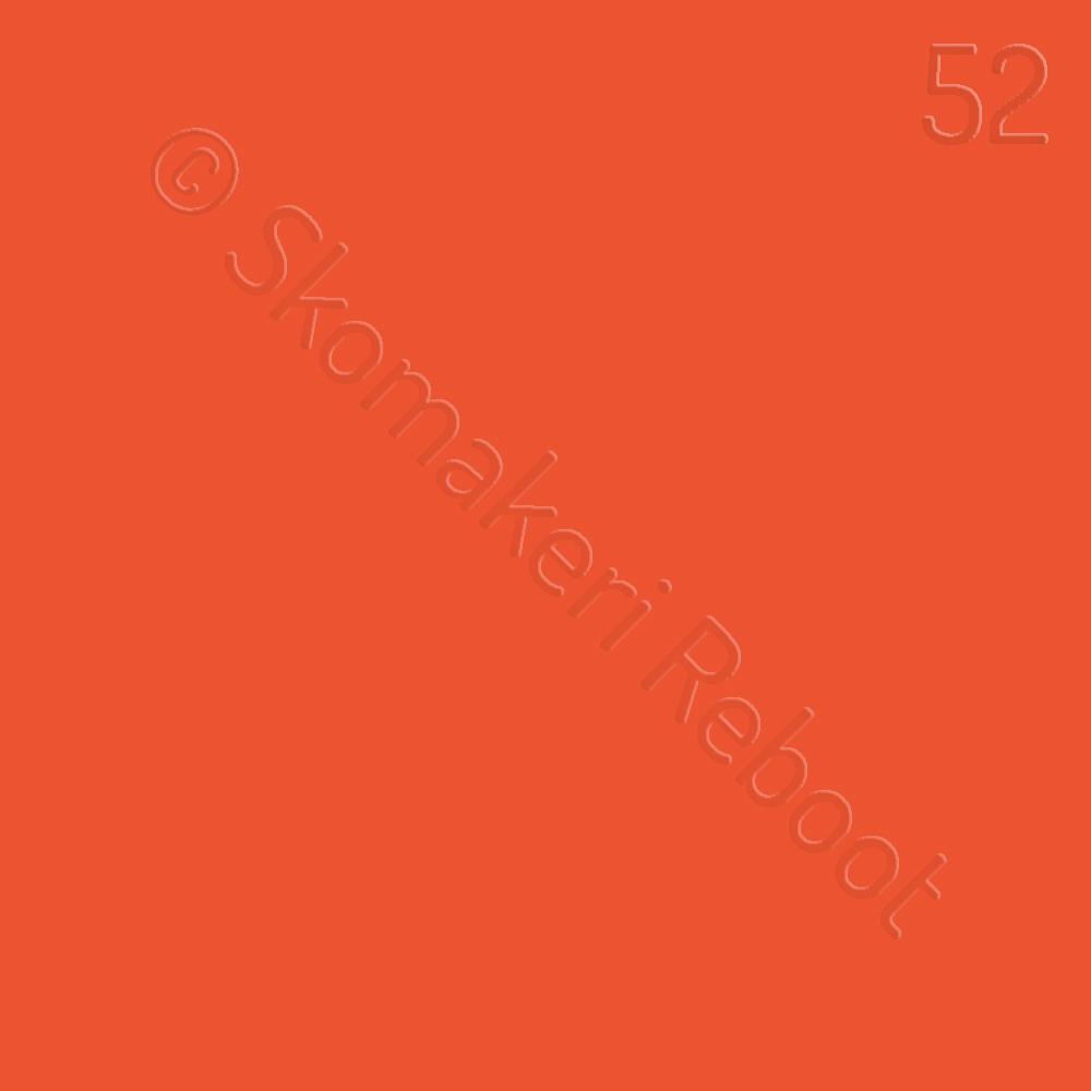 52 orange, Saphir Créme surfine