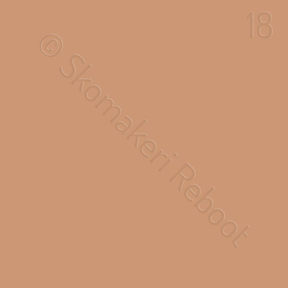 18 kexfärgad, Saphir Créme surfine