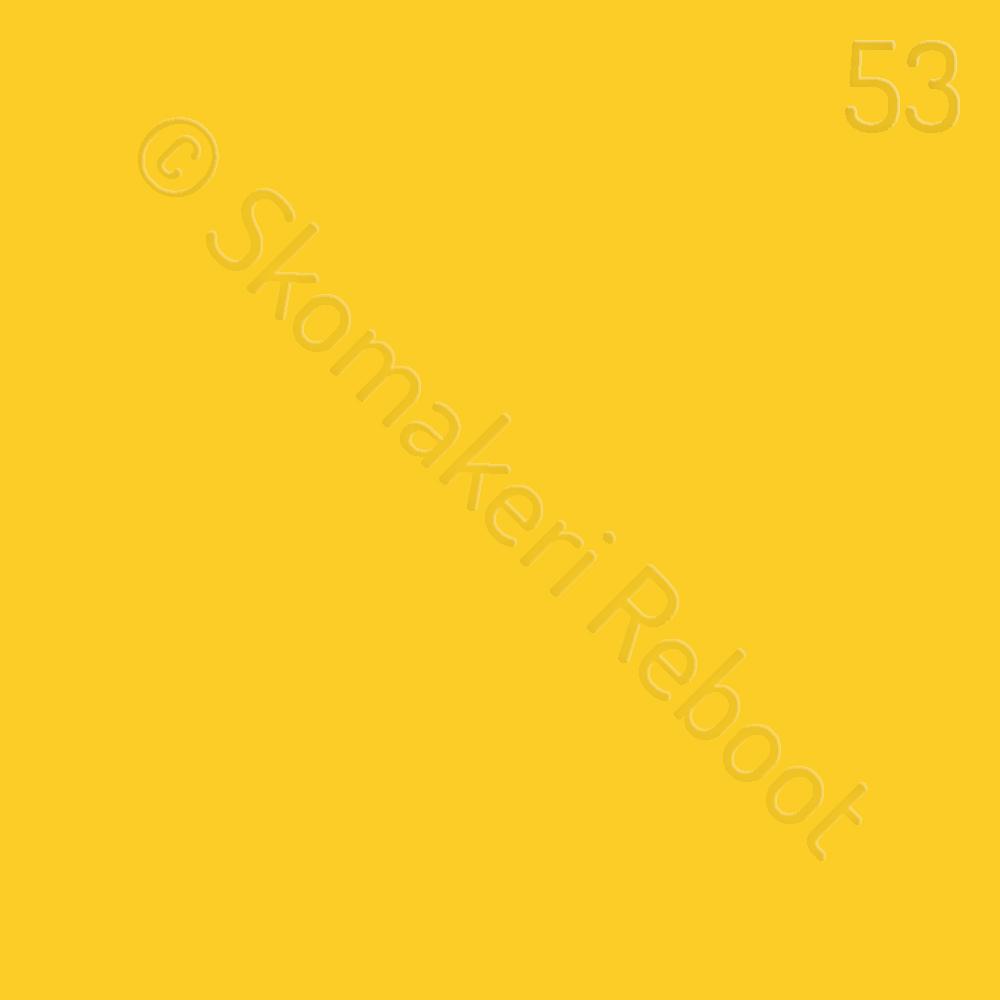 53 gul, Saphir Créme surfine