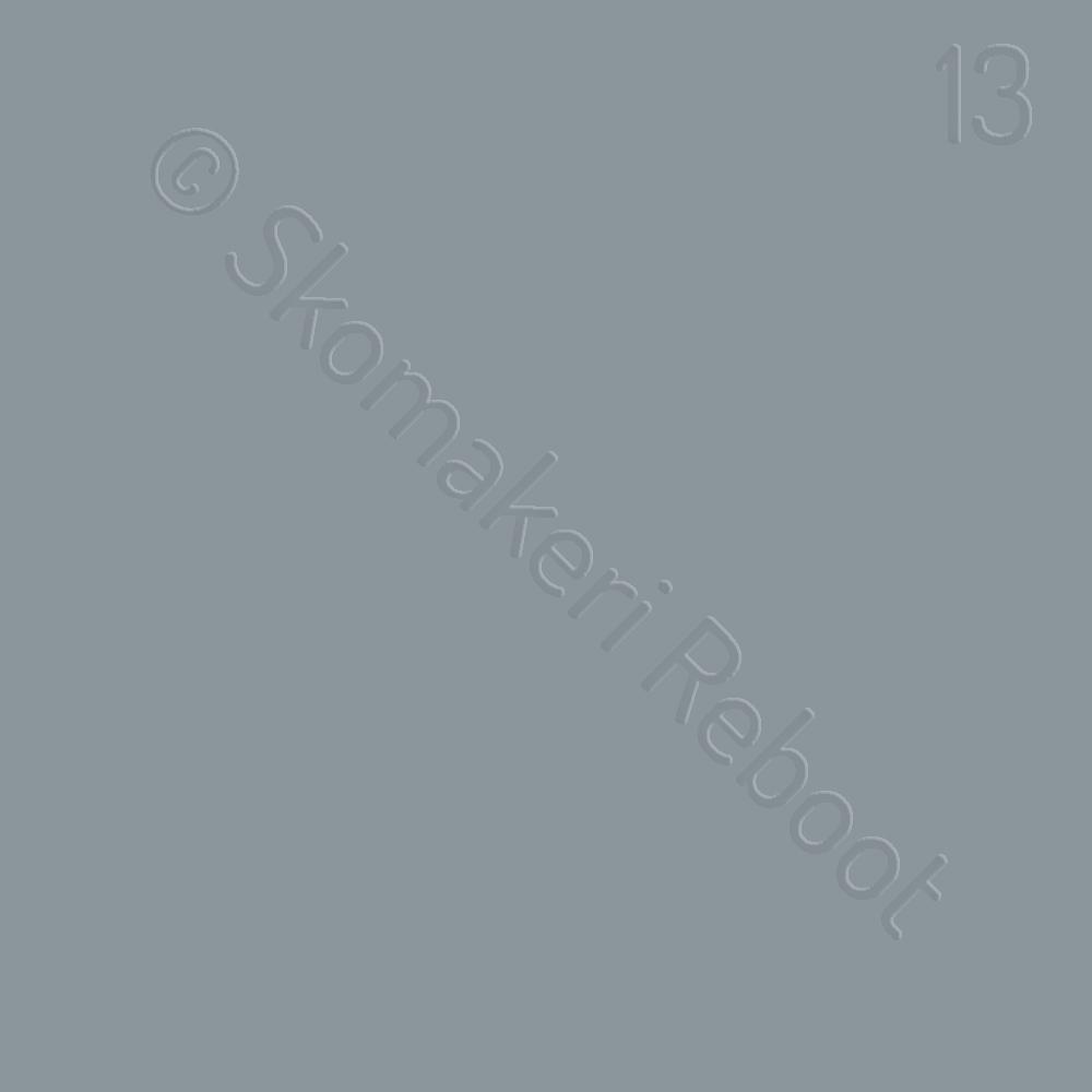 13 ljusgrå, Saphir Créme surfine