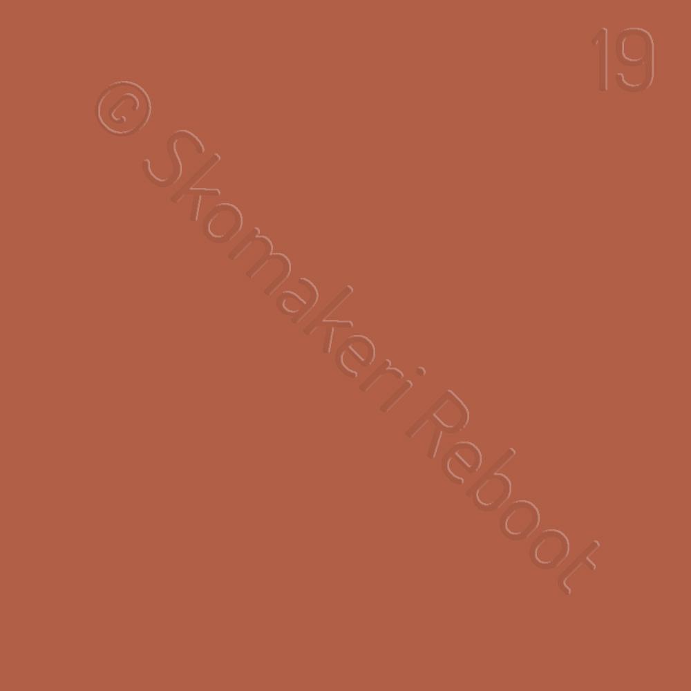 19 gulbrun, Saphir Créme surfine