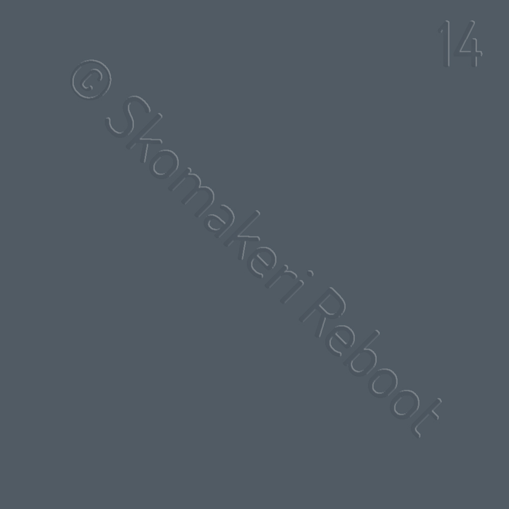 14 grå, Saphir Créme surfine