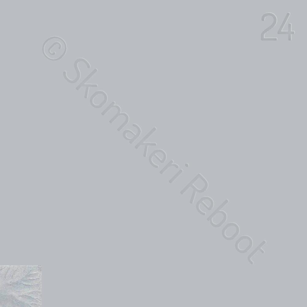 24 silver (metallic), Saphir Créme surfine