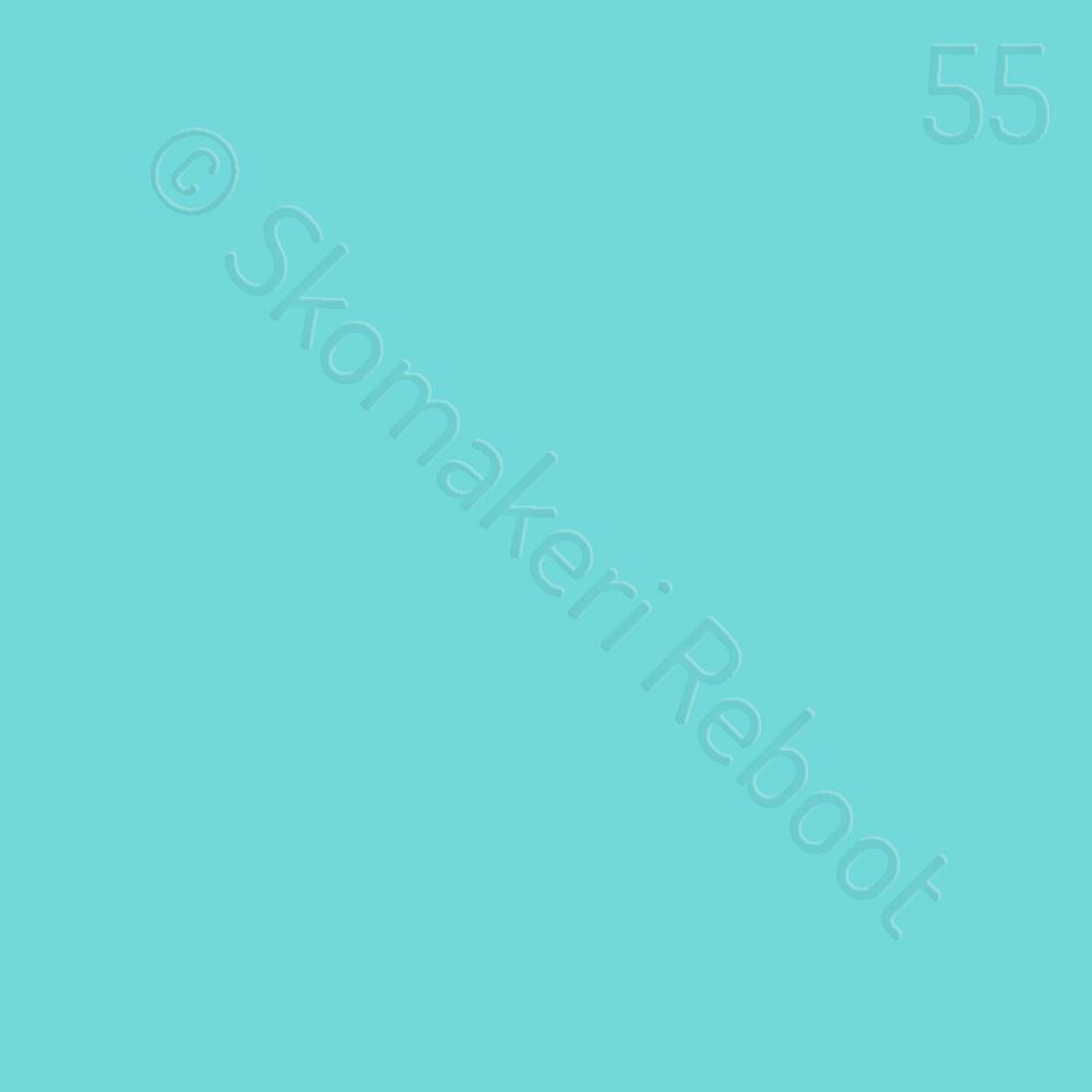 55 blekblå, Saphir Créme surfine