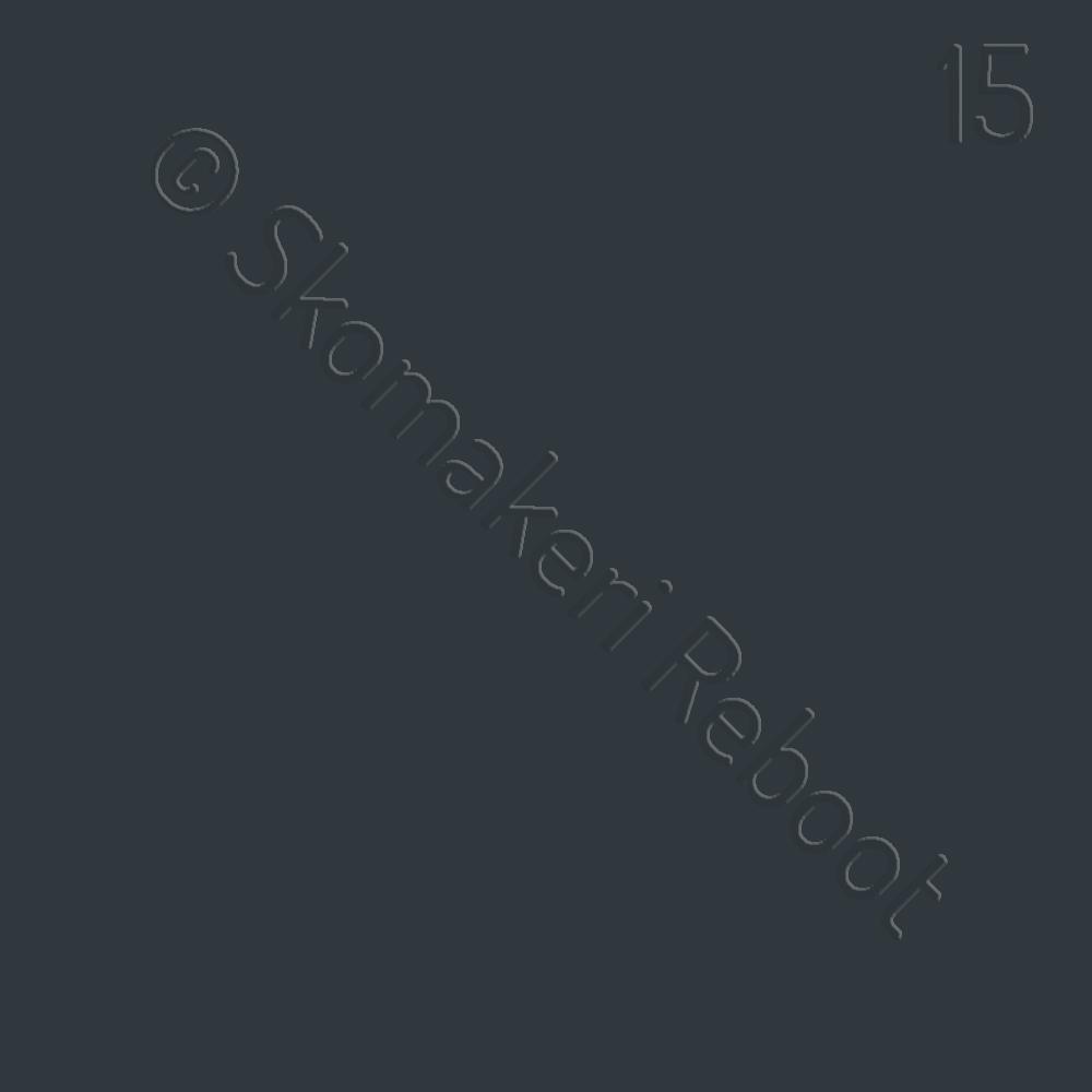15 mörkgrå, Saphir Créme surfine