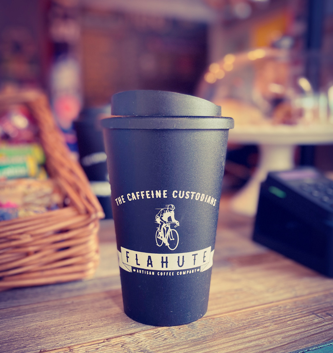 Flahute reusable cup