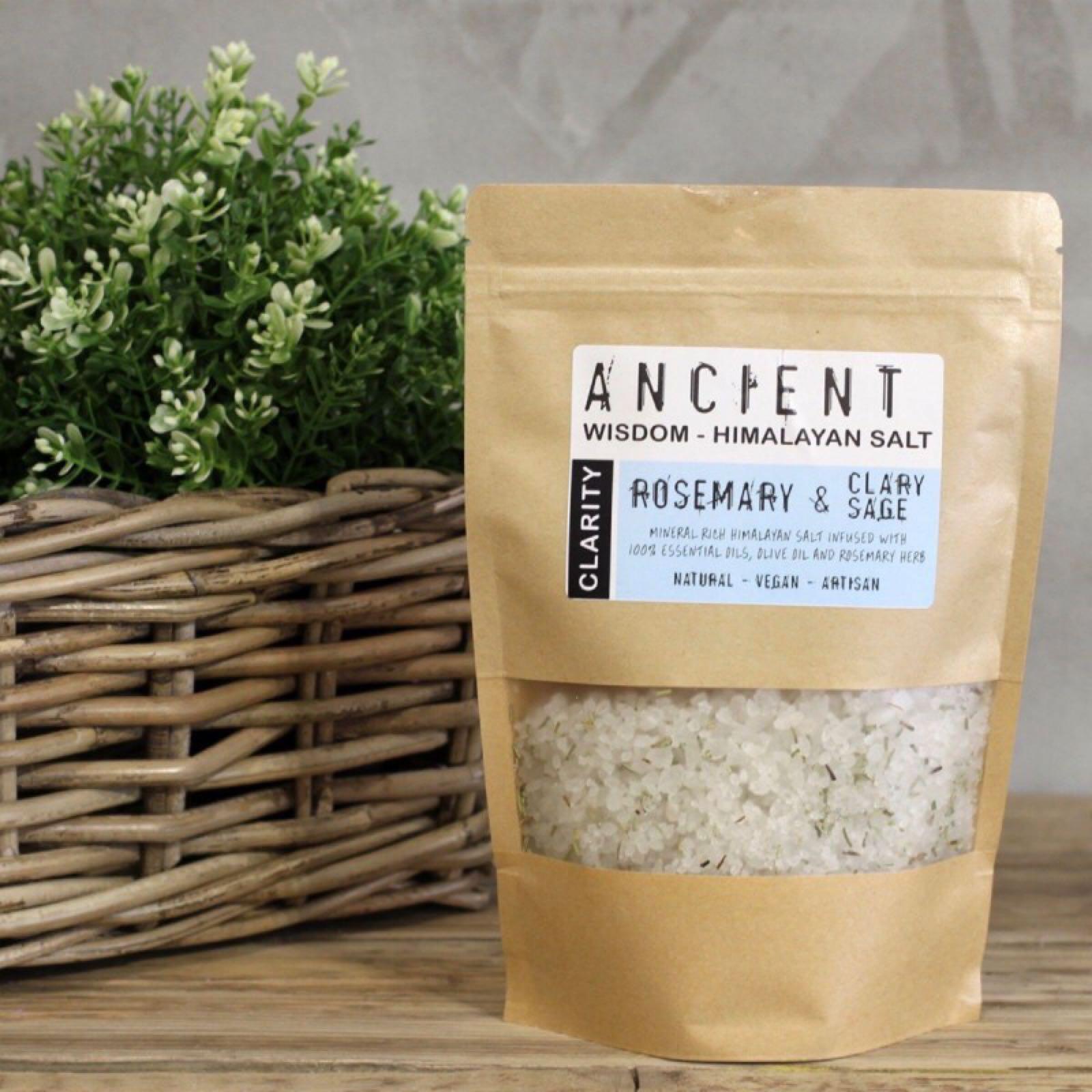 'Clarity' Himalayan Bath Salt Pouch