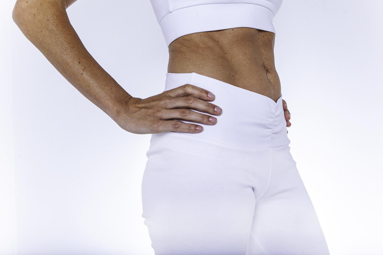 Wellicious - Best Yoga Pants - hvit bukse