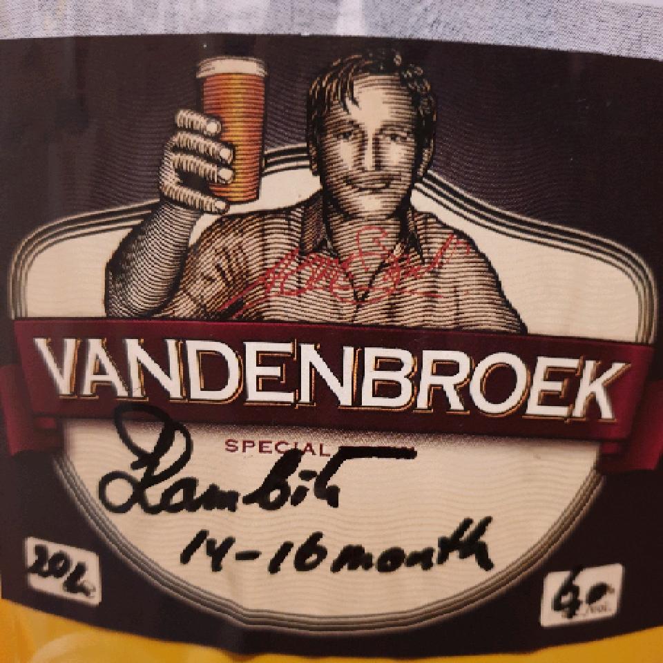 ON TAP Vandenbroek | Lambiek | Wild Sour 6.3% x1 Litre Lambic