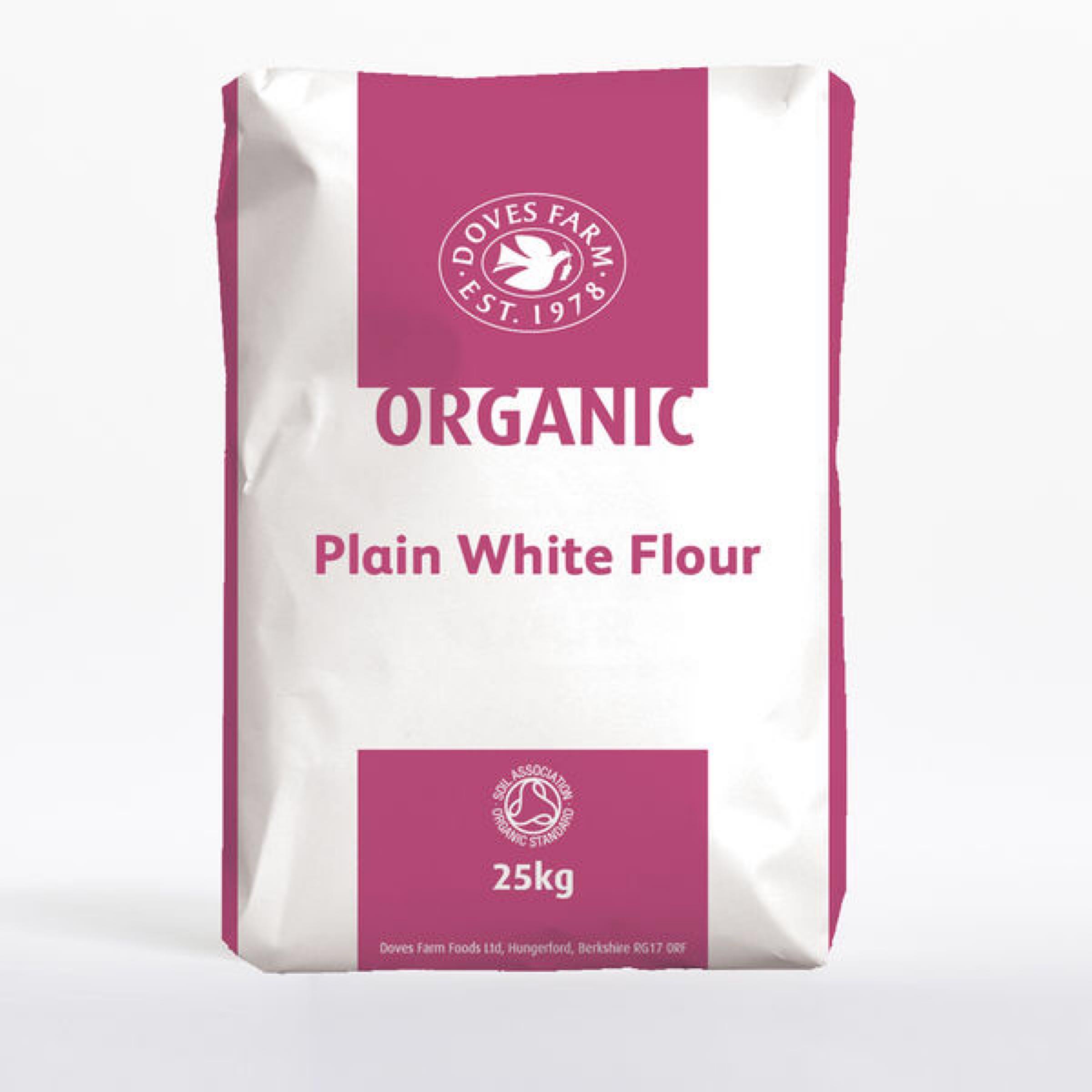 Plain White Flour (doves, organic)