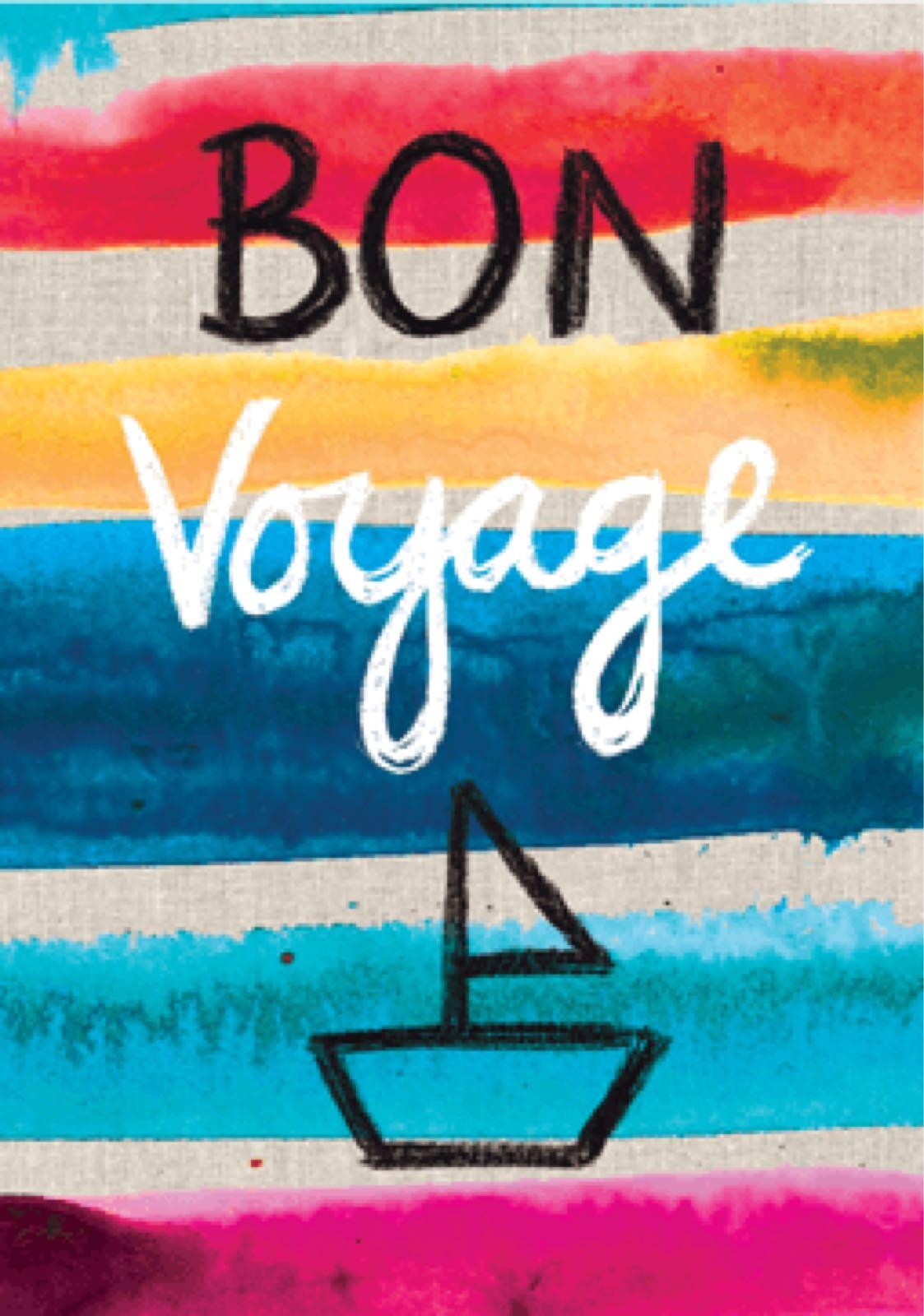 'Bon Voyage' Sarah Kelleher Card