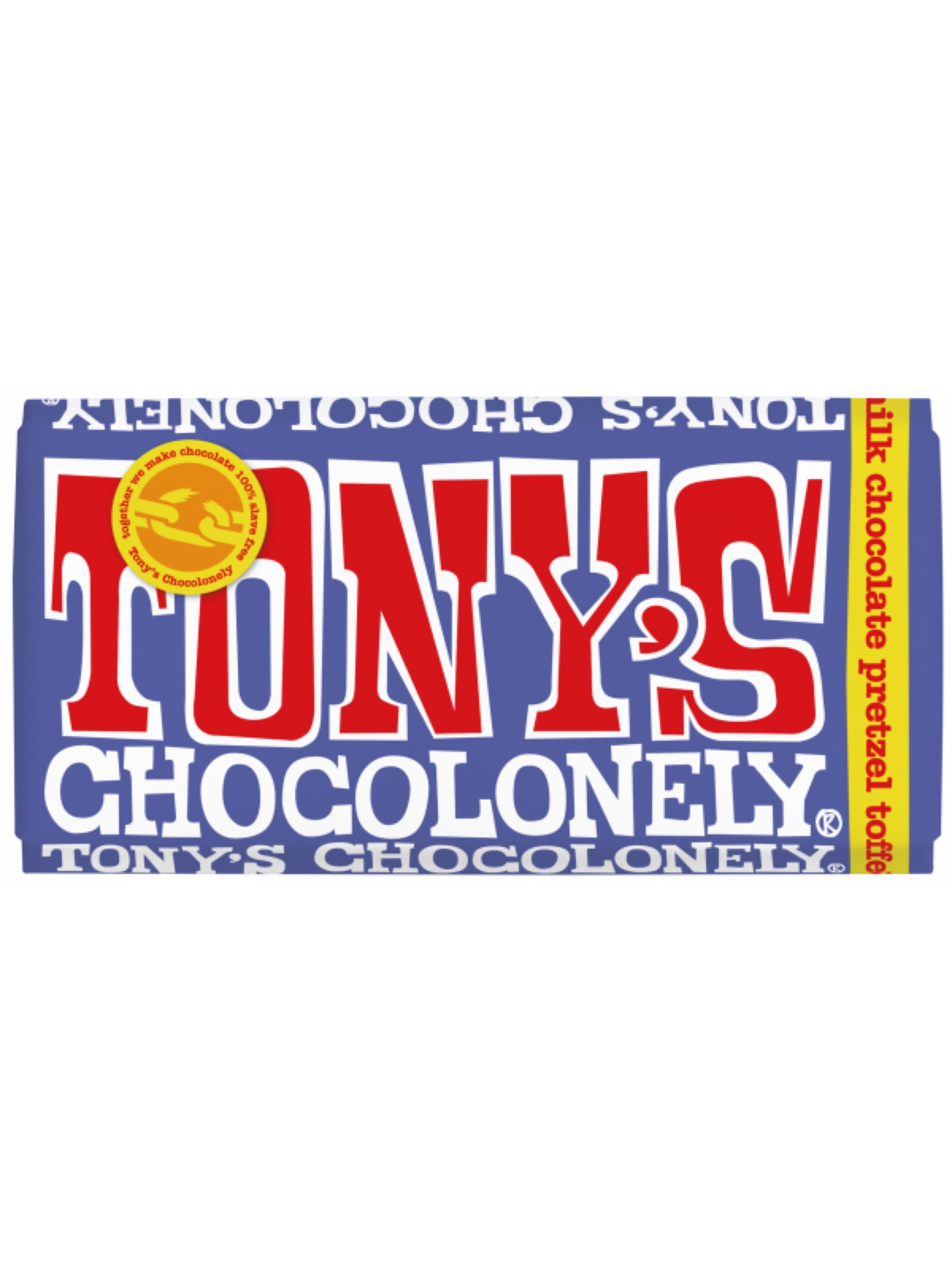 Tony's Dark Milk Pretzel Toffee