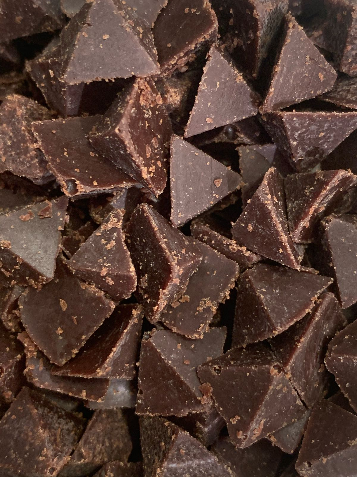 Organic Mr Popples Chocolate Pyramids