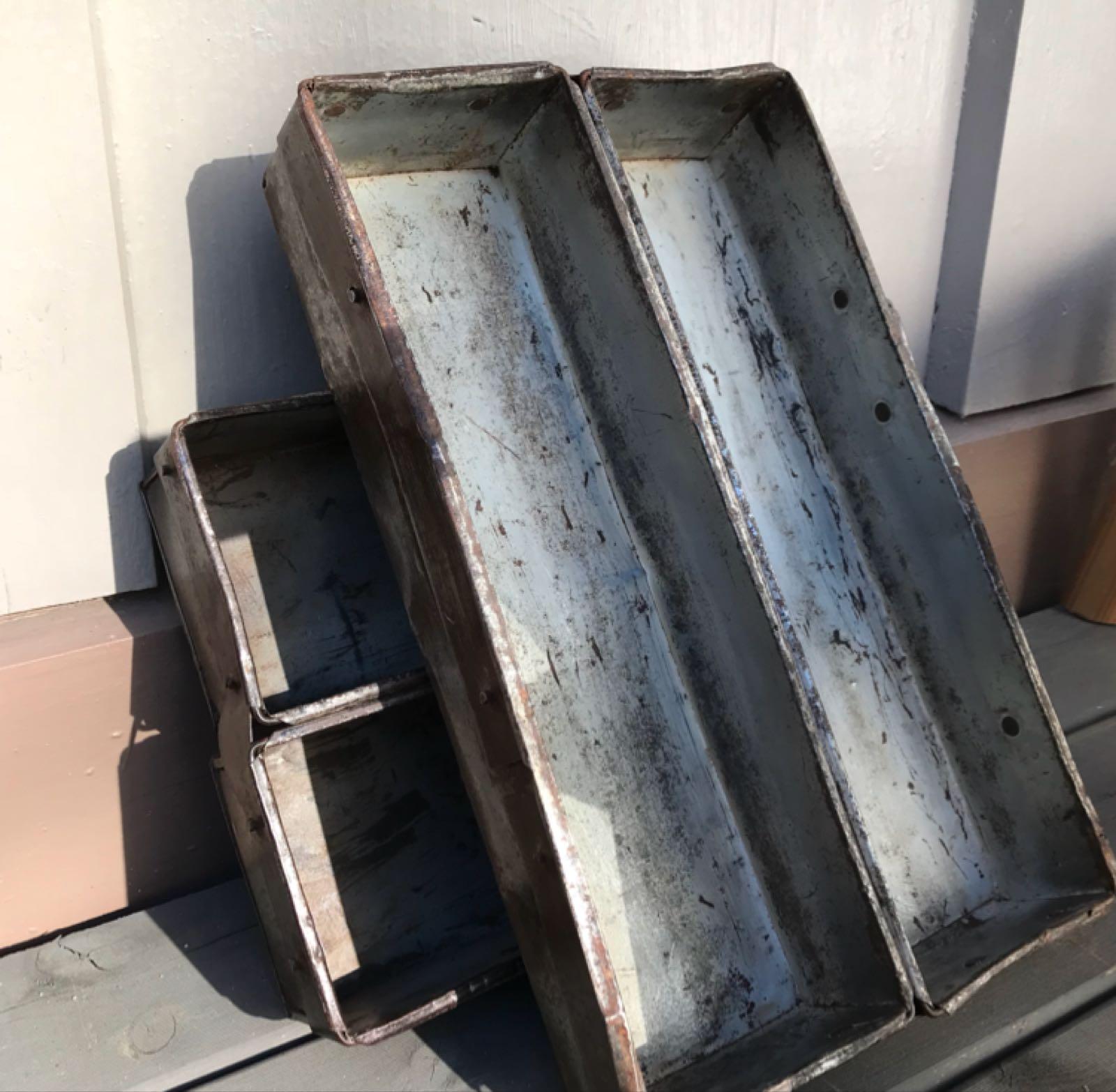 Metallboks : brødform