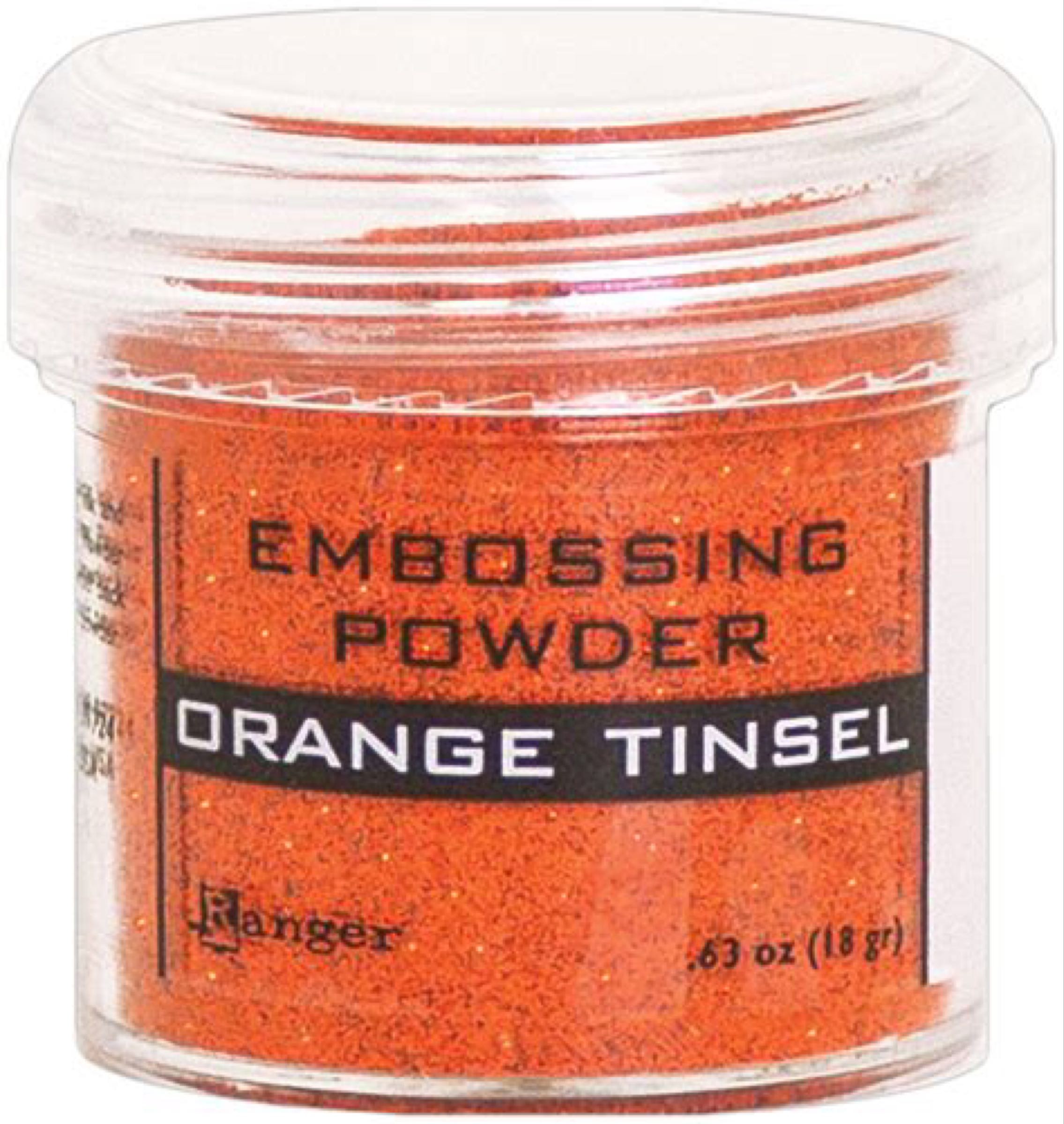 Ranger Embossing Powder Orange Tinsel