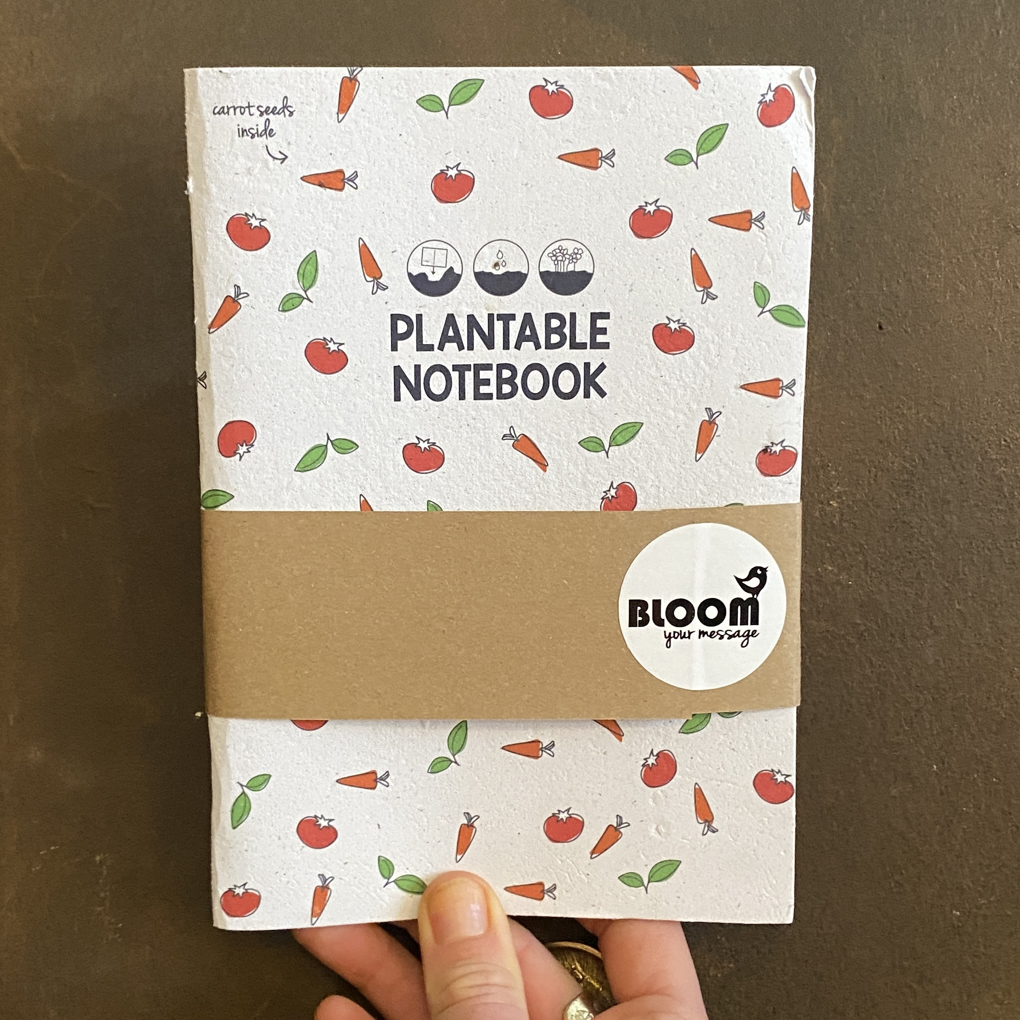 Plantable Notebook