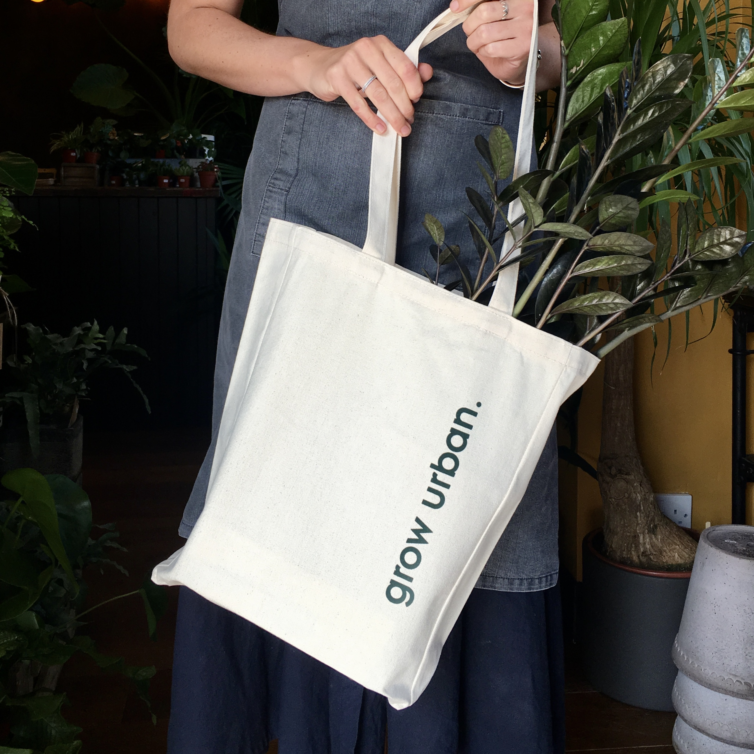 grow urban. Tote Bag
