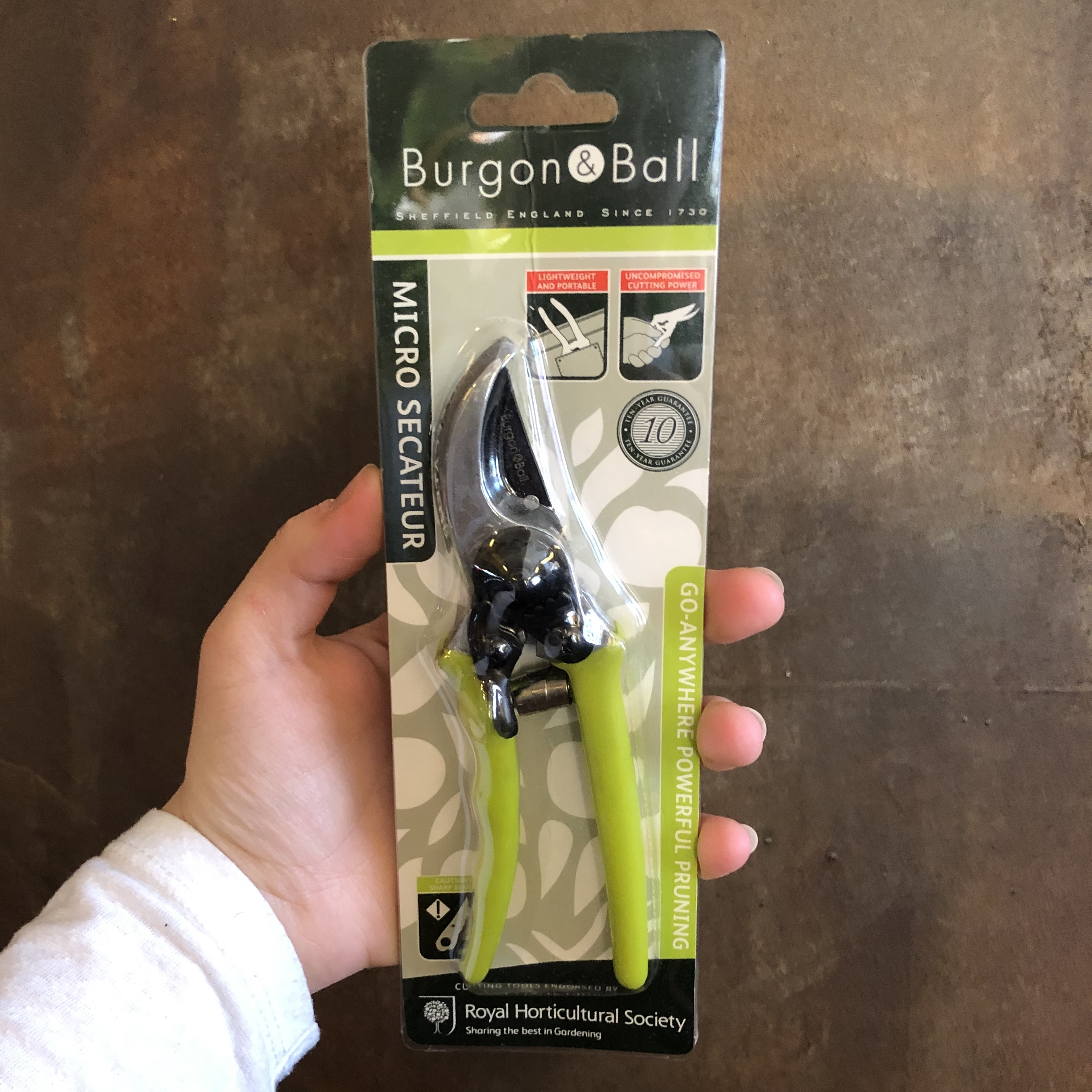 Micro Secateurs by Burgon & Ball