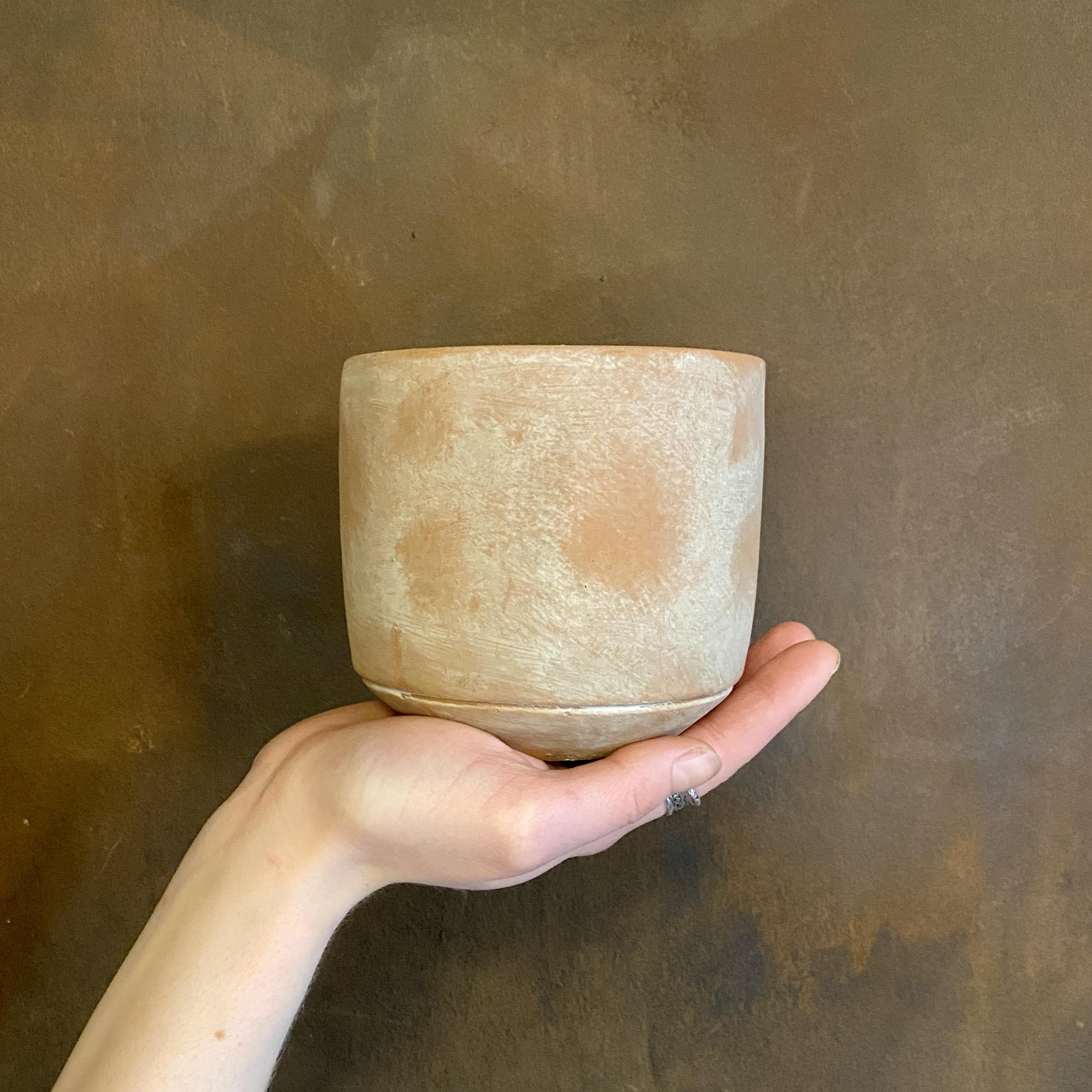 Cement Pot - Terra