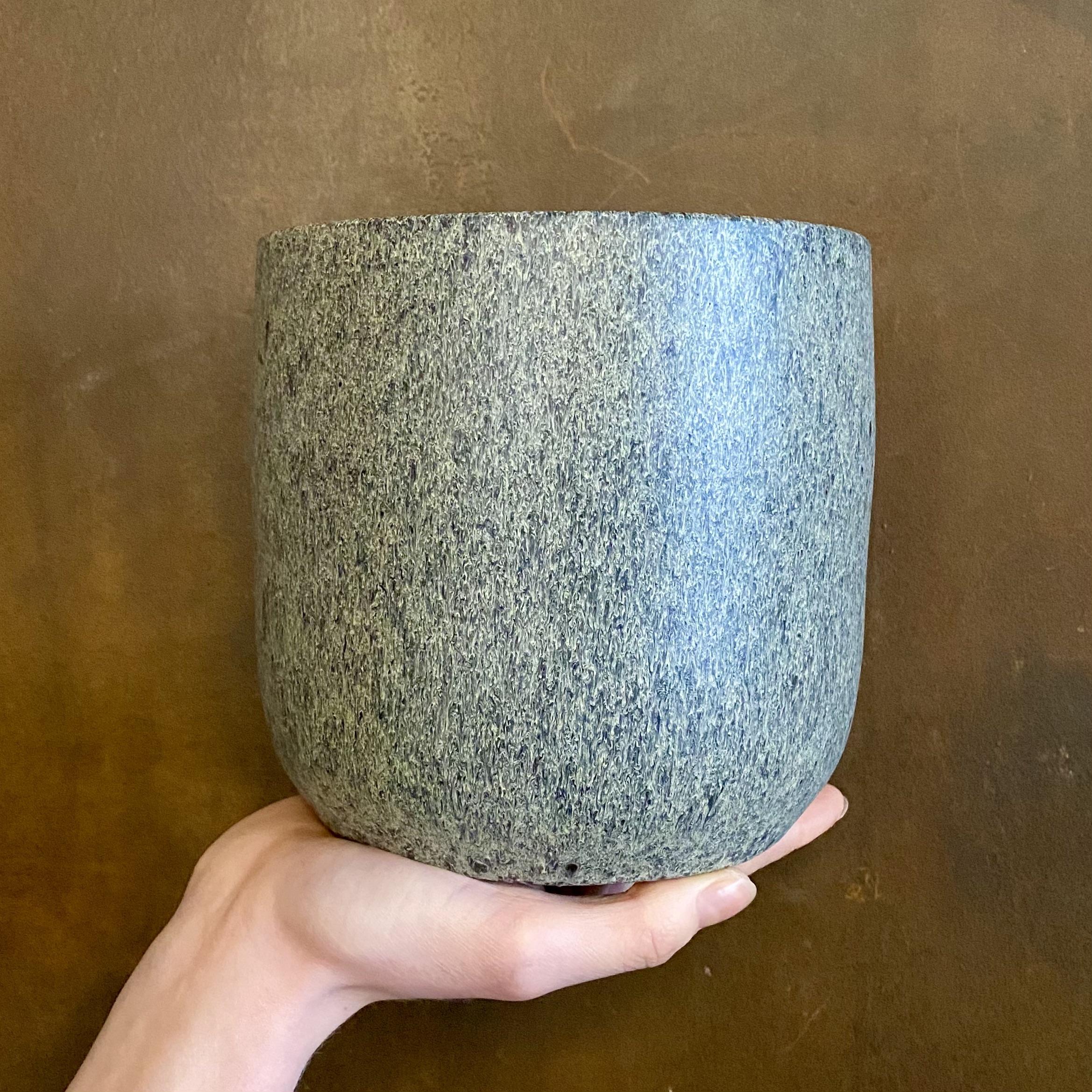 Satin Pot - Vintage Grey