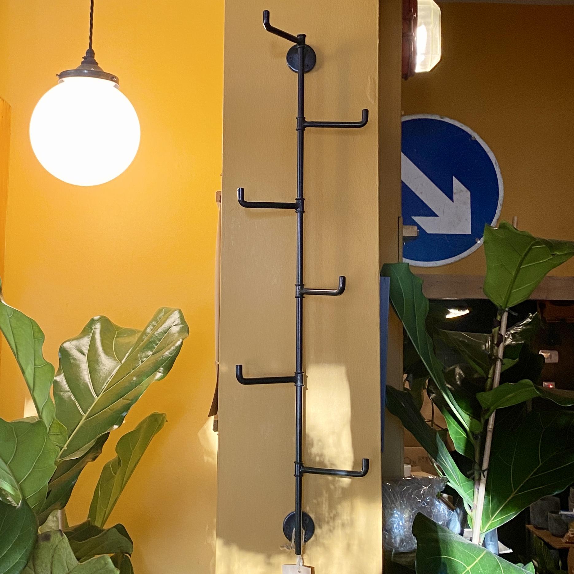 Vertical Bar Wall Hooks - Iron