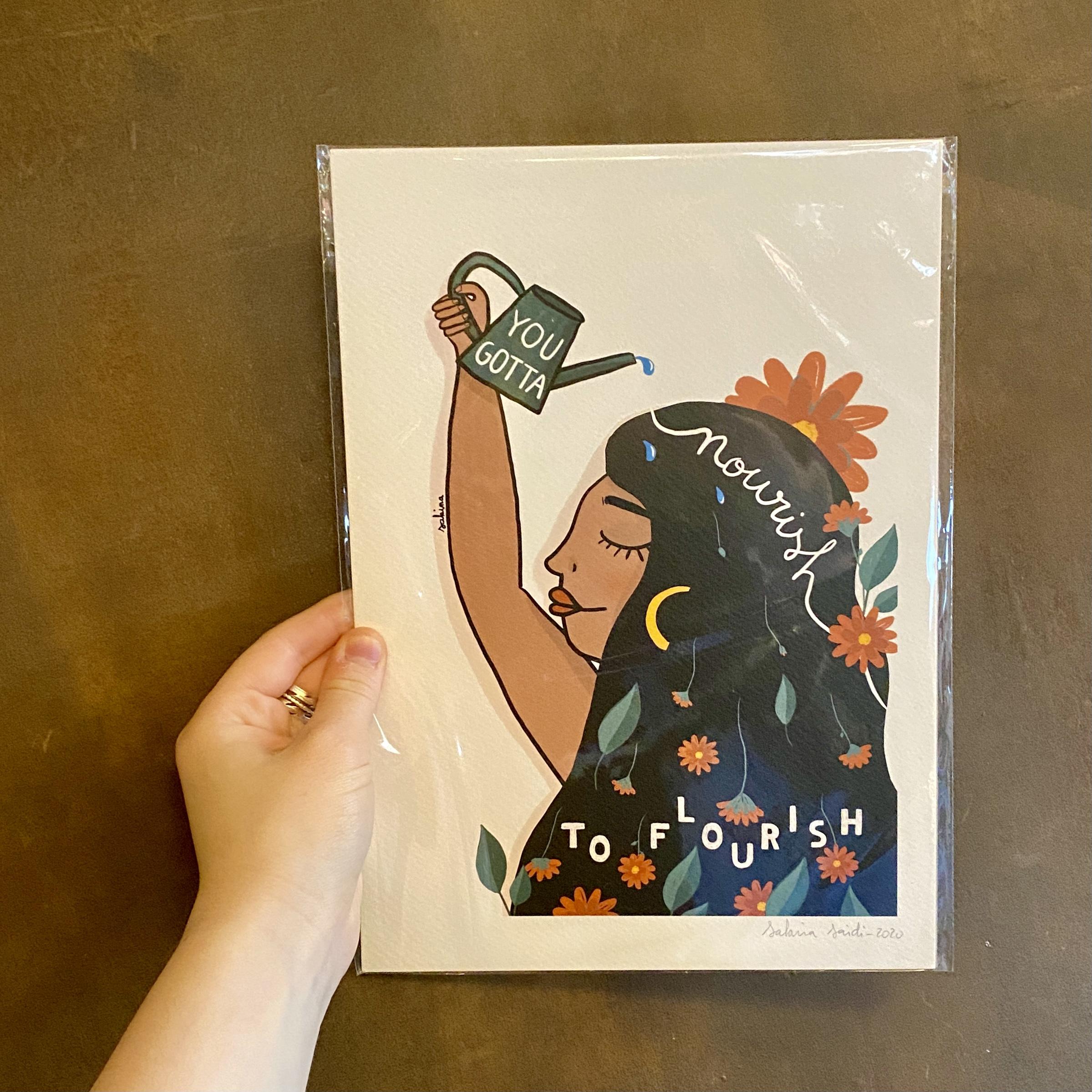 SMALL Sakina Saïdi Prints