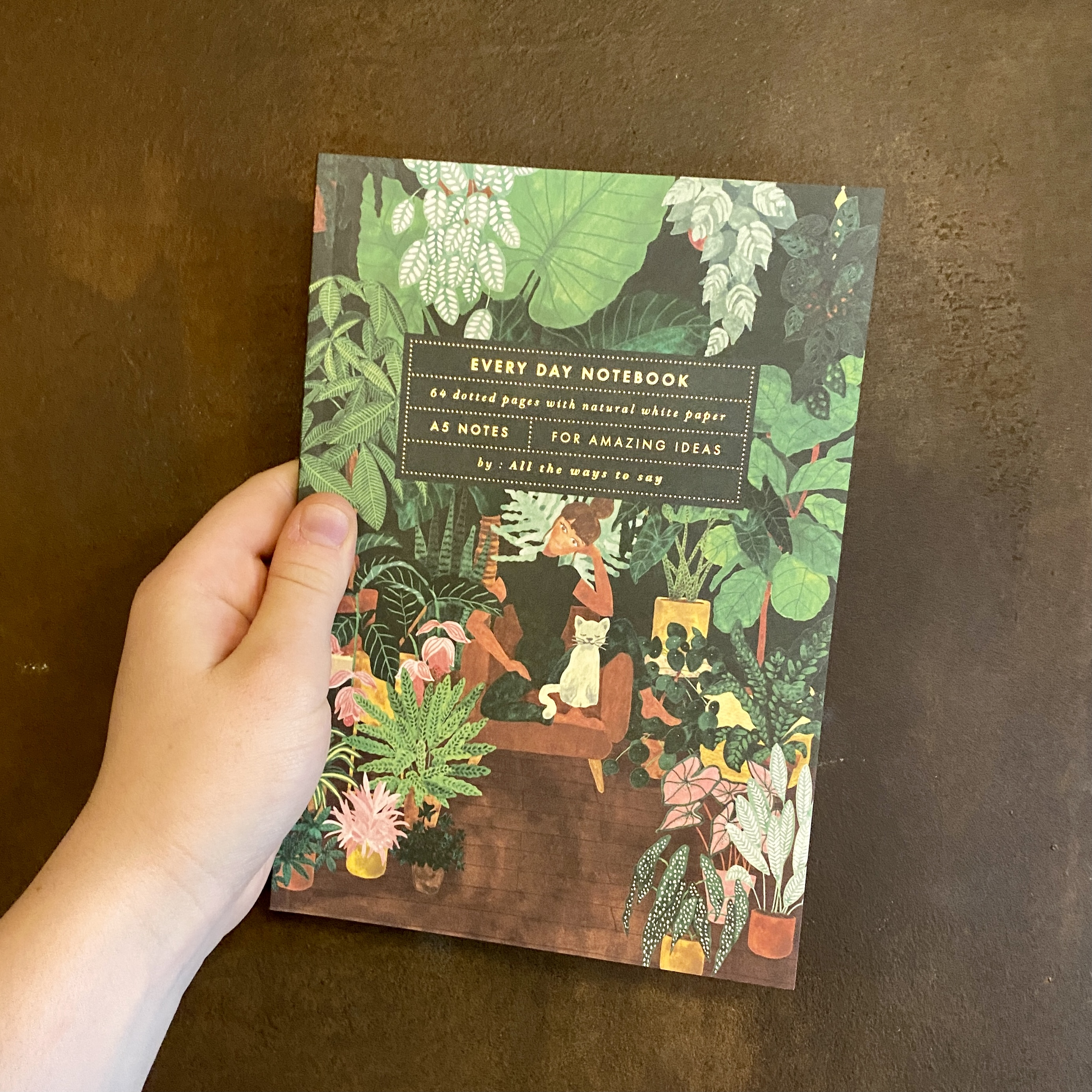 Plant Addict Notebook